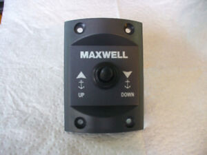 Maxwell up/down anchor switch