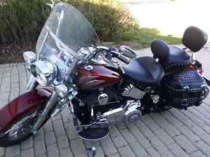 2009 HD Heritage Softail Classic Many Upgrades.