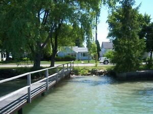 Waterfront  Home on St Clair River Port Lambton