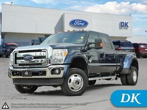 2016 Ford F-350 Super Duty Lariat Dually w/Leather, Nav, More!
