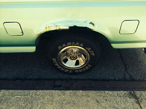 Ford F-150 PickUp Box Wheel Well Replacemets
