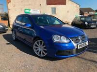 2008 VOLKSWAGEN GOLF R32 V8 4 MOTION 5 DOOR HATCHBACK MILTEKS LOW MILEAGE F.S.H