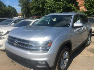 2018 VW Atlas with ONLY 559km just in for sale at Pic N Save!