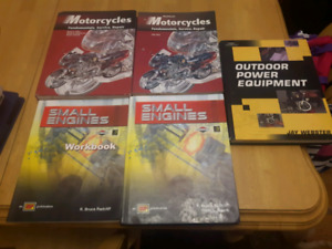 NBCC Small engine and Power Equipment text books
