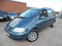 VW SHARAN 1.8 PETROL TURBO 7 SEATER MPV spares and repairs