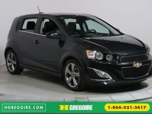 2015 Chevrolet Sonic RS AUTO A/C BLUETOOTH CUIR MAGS