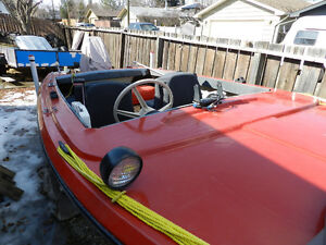 14 foot Boat with 70 HP Motor (1979 Evinrude)