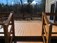 Quality Deck and Fence Painters!