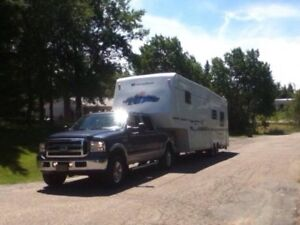 Travel Trailer transporting local within the Maritimes only.