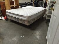 Serta mattress and box spring