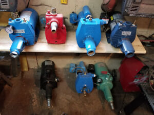 Used and rebuilt jet and piston pumps