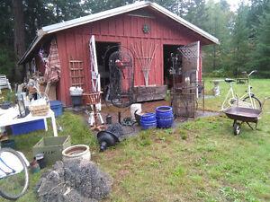 Big Barn and Yard Sale