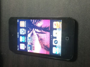 iPod touch. Works GREAT!!!