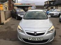 Vauxhall/Opel Astra 1.7CDTi 16v ( 110ps ) 2010MY Exclusive Cheap Road Tax