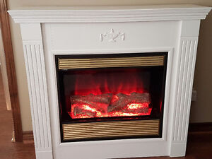 White Electric Fireplace Kijiji Free Classifieds In