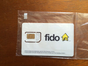 Carte sim Samsung fido alcatel one Touch
