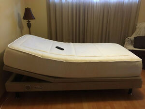 "Adjustable Twin Long Bed - 38"" x *80"""