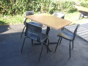 TABLE WITH 4 CHAIRS ONLY $15