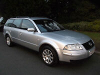 Volkswagen Passat 1.9TDI PD130bhp 2003 SE EXCEPTIONALLY TIDY CAR FOR IT'S AGE