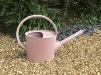 Dusky pink Burgon and ball watering can NEW