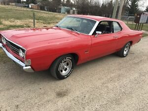 1968 CLASSIC FORD FAIRLAINE 500 PRO STREET FOR SALE