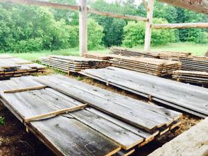 GREY BOARD - RECLAIMED RUSTIC BARN BOARD