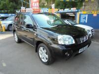 2006 06 NISSAN X-TRAIL 2.2 DCI COLUMBIA 4X4 IN BLACK # FULL SERVICE HISTORY #
