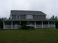 House on '5acres Bras D'or lake view St.peters Cape Breton