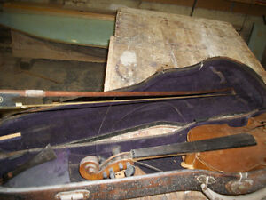 Stradivarius copy violin with bow
