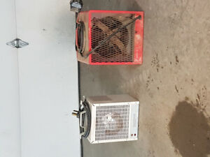 2 construction heaters