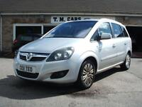 2011 Vauxhall/Opel Zafira 1.7CDTi ecoFLEX Excite **Ltd Edition**