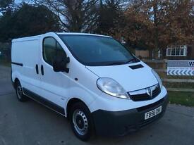 Vauxhall Vivaro Swb Van, NO VAT.