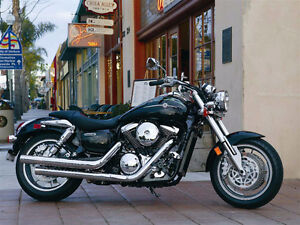 2005 Kawasaki Mean Streak 1600, Complete Stock Exhaust System