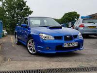 2007 07 Reg Subaru Impreza 2.5 WRX,BLUE,MANUAL,4 DOORS,42,000 MILES F.S.H