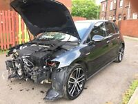 **2017 (66) VOLKSWAGEN GOLF GTD 2.0 DIESEL SALVAGE DAMAGED REPAIRABLE**GTI C63 S3**