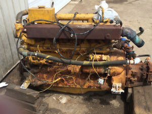 135HP John Deere marine diesel engine with transmission