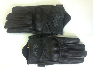 *NEW* Streetz Leather Motorcycle Racing Gloves