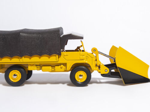 DINKY TOYS 567 1//43 CHASSE-NEIGE UNIMOG MERCEDES-BENZ ATLAS SNOW CLEARER