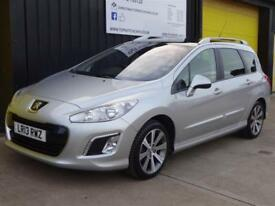 2013 (13) Peugeot 308 SW 1.6 e-HDi 115 Active Estate Diesel *Nav & Pan roof*