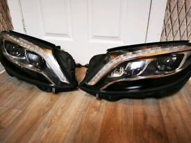 Mercedes S class. W222 headlights