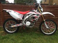 2005 crf 450 on road motorcross enduro road legal not supermoto