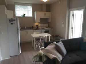 $1050-South Surrey - 1 Bdrm Suite with Walkout Basment - Modern