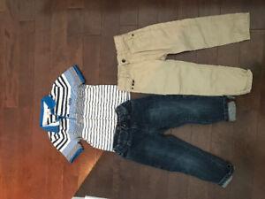 Hugo boss baby boy clothes.