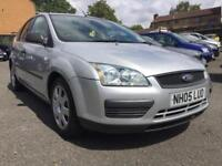 2005 AUTOMATIC FORD FOCUS 1.6 PETROL, PART SEVICE HISTORY, 2 KEYS