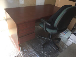 Selling office desk and office chair for $200 or best offer.