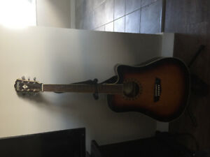 Washburn Guitar for sale. Acoustic/Electric/cutout