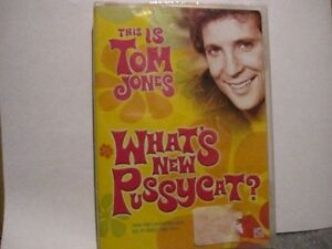What's New Pussycat?TOM JONES, DVD NEW UNOPENED