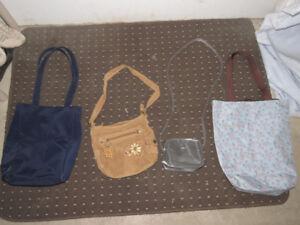 Sacs à main et sacs à dos - en très bon état