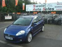 2006 FIAT GRANDE PUNTO SPORTING 1.4L ONLY 83,243 MILES, FULL SERVICE HISTORY