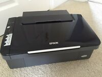 Epson Stylus SX100 Colour Printer & Scanner, with new Black/Colour Ink Cartridges